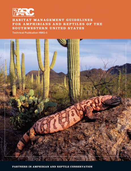Southwest PARC Habitat Management Guidelines