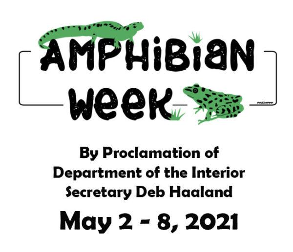 2021 Amphibian Week Logo